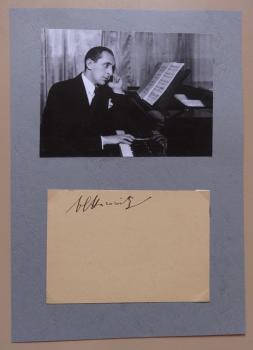 Horowitz, Vladimir - Pianist
