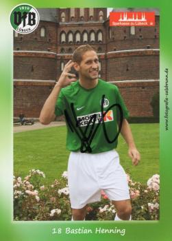 Henning, Bastian - VFB Lübeck (2009/10)