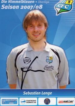 Langer, Sebastian - Chemnitzer FC (2007/08)