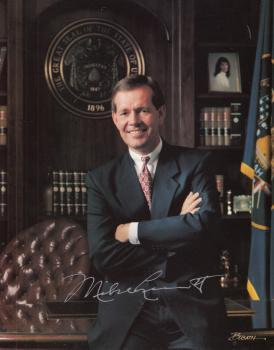 Leavitt, Michael - Gouverneur von Utah