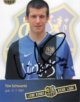 Schwartz, Tim - 1.FC Saarbrücken (2007/08)