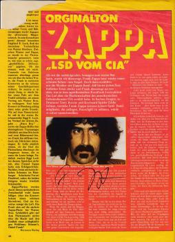 Zappa (+), Frank