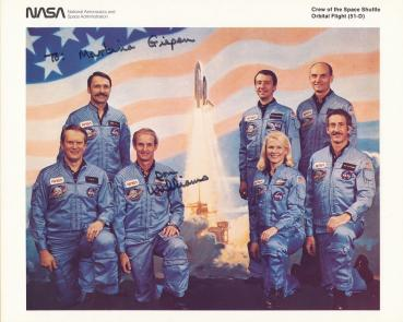 Williams, Donald E. - Space Shuttle 51 D